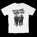 My Chemical Romance rock band t shirts white tees cotton 100 S M L XL XXL [2]