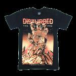 Disturbed rock band t shirts cotton100% S-2XL [NTS]
