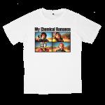 My Chemical Romance rock band t shirts white tees cotton 100 S M L XL XXL [3]