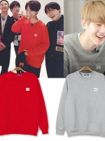 เสื้อแจ็คเก็ตแขนยาว EXO ดีไซน์โลโก้ ผ้าเรียบสวย แต่งขอบ มี4สี