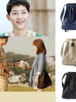 กระเป๋าผ้าใบสะพายไหล่ สไตล์หมอคังโมยอน ซองเฮเคียวจากซีรี่ย์ Descendants of the Sun