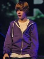 เสื้อฮู้ดแจ็คเก็ตแขนยาว Justin Bieber แต่งกระเป๋า
