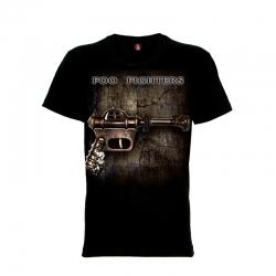 เสื้อยืด วง Foo Fighters แขนสั้น แขนยาว S M L XL XXL [2]