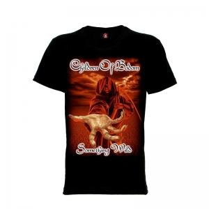 เสื้อยืด วง Children of Bodom แขนสั้น แขนยาว S M L XL XXL [1]