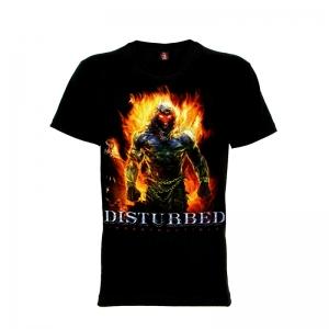เสื้อยืด วง Disturbed แขนสั้น แขนยาว S M L XL XXL [2]