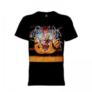 เสื้อยืด วง Helloween แขนสั้น แขนยาว S M L XL XXL [1]