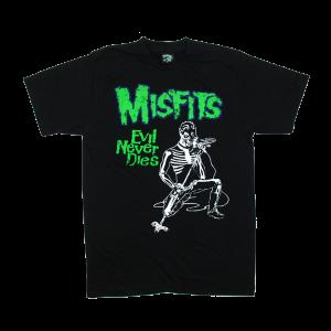 เสื้อยืด วง Misfits แขนสั้น งาน Vintage ลายไม่ชัด ทุกขนาด S-XXL [Easyriders]