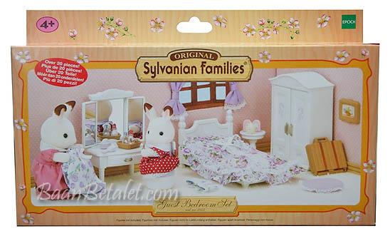ซิลวาเนียน เฟอร์นิเจอร์ห้องนอนแขก (EU) Sylvanian Families Guest Bedroom Set
