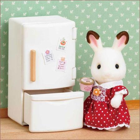 ซิลวาเนียน ตู้เย็น 2 ประตู Sylvanian Families Refrigerator Set