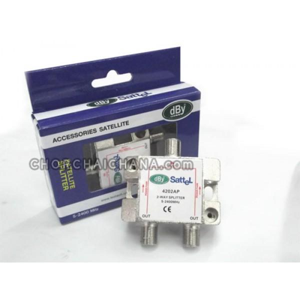 Splitter แยกสัญญาณ dBy 4202AP
