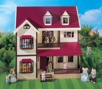 [หมดค่ะ] บ้านตุ๊กตาซิลวาเนียน..โอ๊ควู้ดมานอร์ (Sylvanian Families Oakwood Manor House)