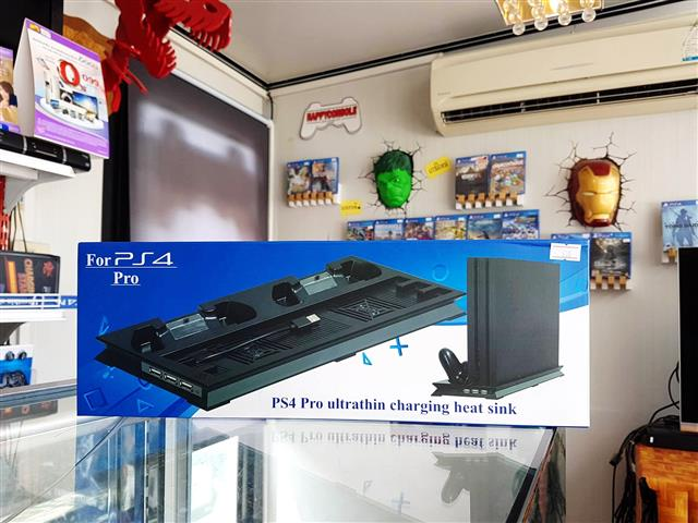 PS4 Pro Ultrathin Charging heat sink