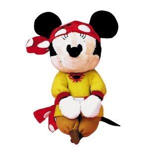 ตุ๊กตาโจรสลัดมินนี่ 5.5นิ้ว Minnie Mouse Pirate Plush