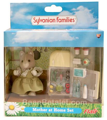 ซิลวาเนียน แม่หมากับตู้เย็น (UK) Sylvanian Families Mother at Home Set