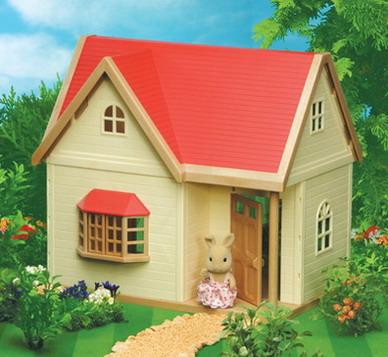 [SOLD OUT] บ้านตุ๊กตาซิลวาเนียน..โรสคอตเทจ (JP) Sylvanian Families Rose Cottage