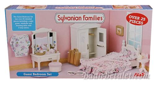 ซิลวาเนียน เฟอร์นิเจอร์ห้องนอนแขก 2005 (UK) Sylvanian Families Guest Bedroom Set