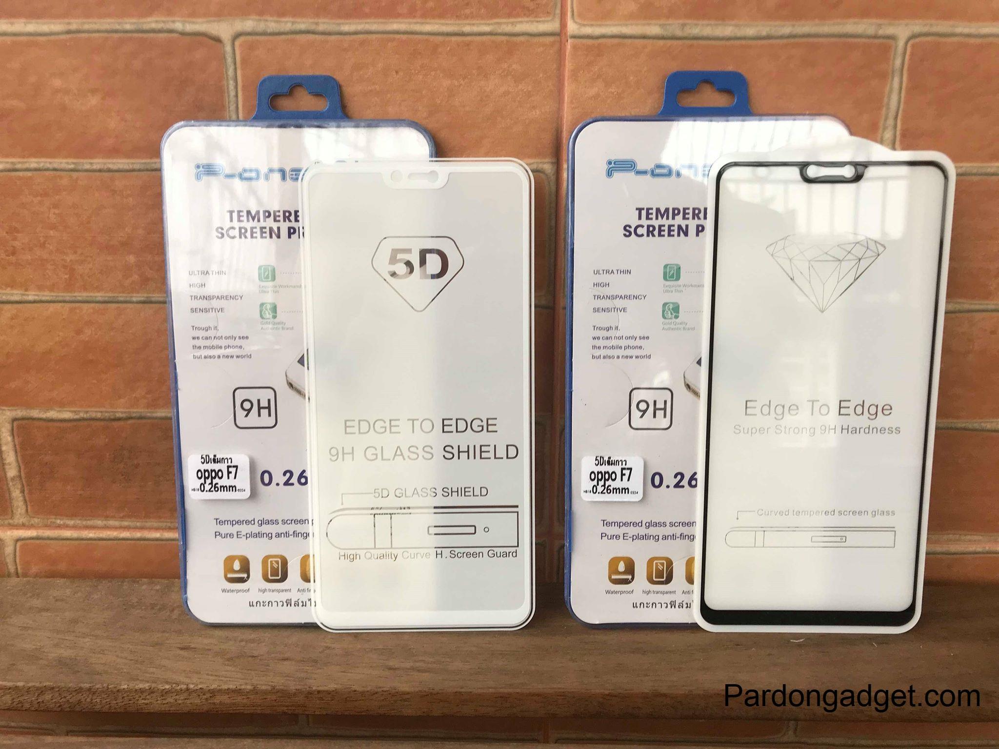 ฟิล์มกระจก5Dกาวเต็มจอ Oppo R15