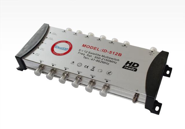 มัลติสวิซต์ 5X12 IDEASAT รุ่น ID-512B