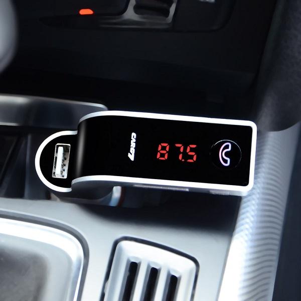 bluetooth car g7 เปลี่ยนเครื่องเสียงรถยนต์ธรรมดา ให้เป็นเครื่องเสียงเทพ