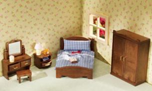 ซิลวาเนียน เฟอร์นิเจอร์ห้องนอนใหญ่ (EU) Sylvanian Families Master Bedroom Set