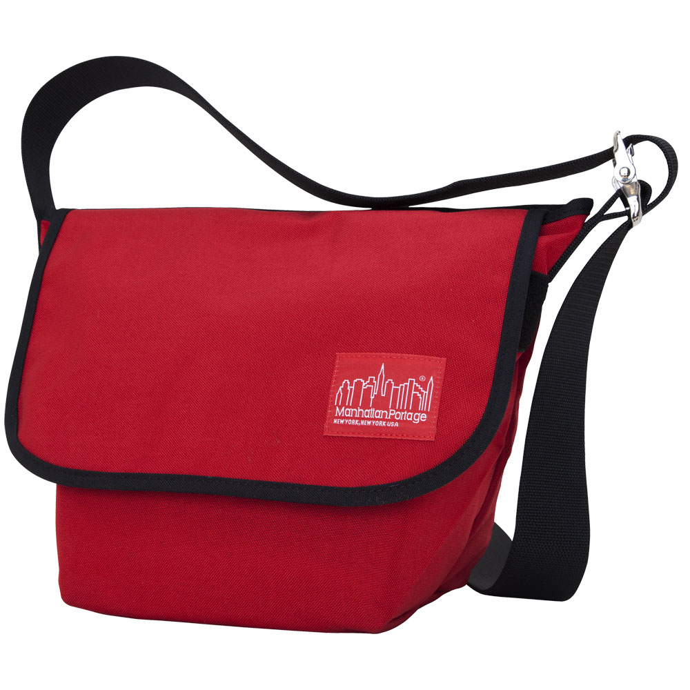 Manhattan Portage Vintage Messenger Bag – Red Size SM