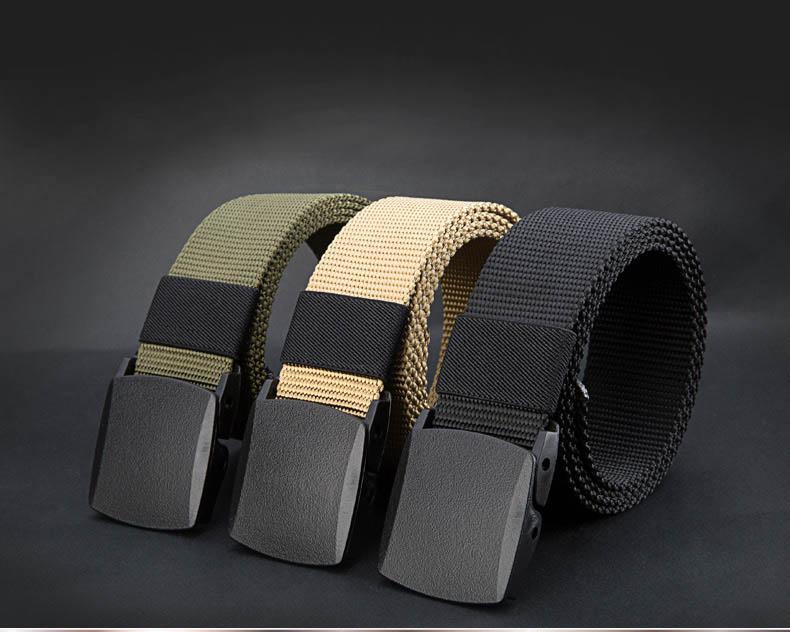 เข็มขัดผ้า Nos รุ่นพิเศษ POM-anti allergic material