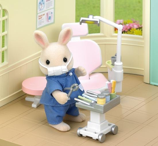 ซิลวาเนียน ชุดหมอฟัน Sylvanian Families Dentist Set