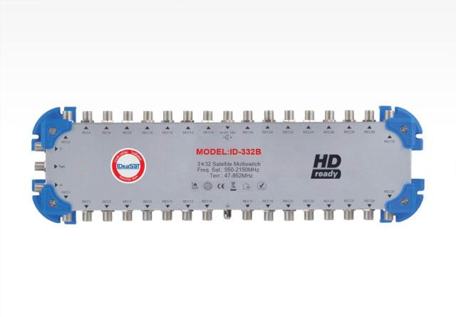 มัลติสวิซต์ 3x32 iDeasat รุ่น ID-332B