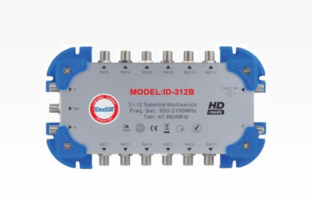 มัลติสวิซต์ 3X12 IDEASAT รุ่น ID-312B