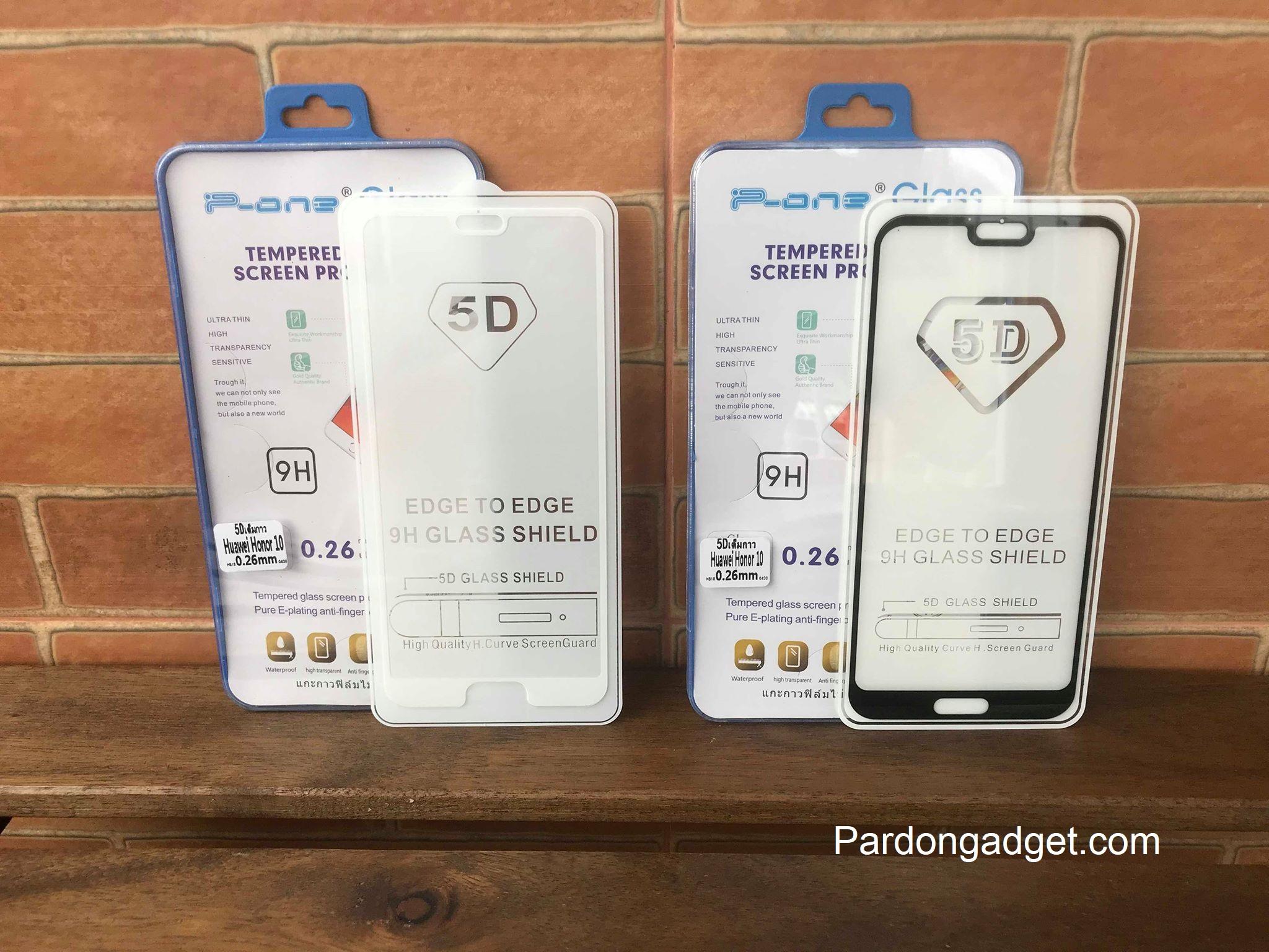 ฟิล์มกระจก5Dกาวเต็มจอ Huawei Honor 10