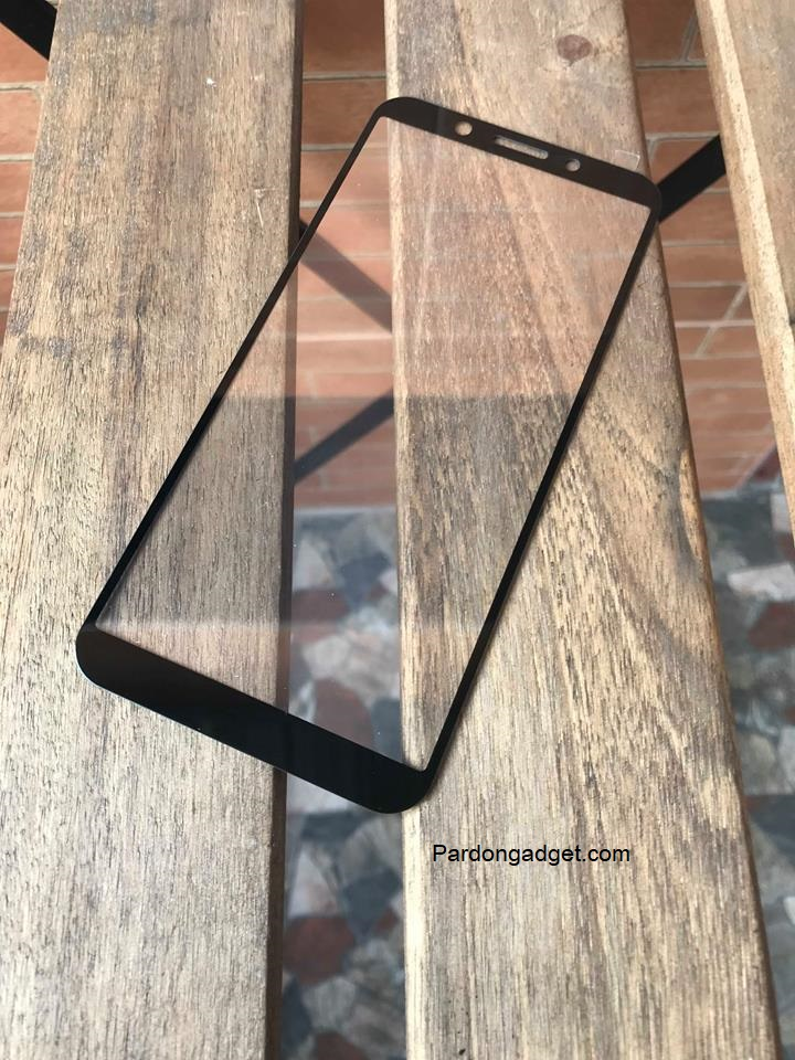 ฟิล์มกระจกเต็มจอ Oppo A83 สีดำ