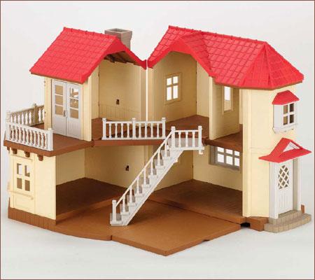บ้านตุ๊กตาซิลวาเนียน (EU) Sylvanian Families City House with Lights