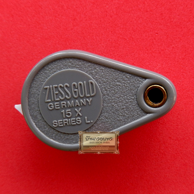 กล้องส่องพระและจิวเวลรี่คุณภาพดี ยี่ห้อ ZiessGold Series L รุ่นใหม่ล่าสุด Body Plastic อย่างดี กำลังขยาย 15 เท่า