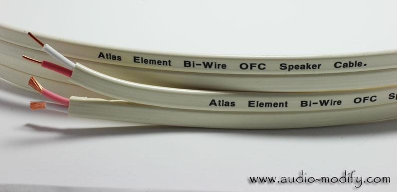 ATLAS Element Biwire Speaker Cable