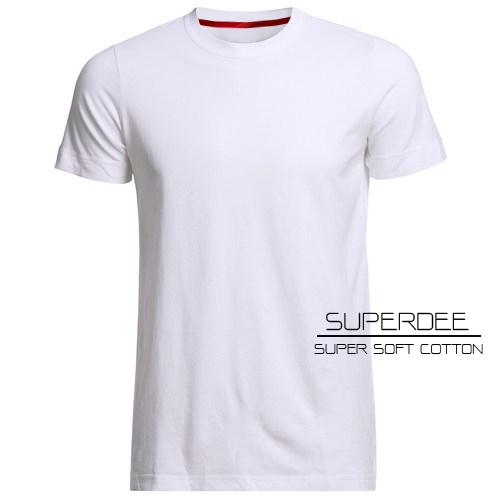 เสื้อยืดสีขาวซุปเปอร์ซอฟท์ Super Soft White Round Neck Tshirt