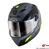 SHARK RACE-R PRO SAUER / Anthracite Black Yellow/AKY