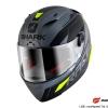 SHARK RACE-R PRO SAUER / Anthracite Black Yellow/AKY
