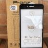 ฟิล์มกระจกเต็มจอ Iphone 7/Iphone 8 สีดำ 5D