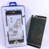 ฟิล์มกระจก(ฟิล์มกันรอย) 3 มิติ Iphone 6/6S สีดำ 2in1 (หน้า-หลัง)