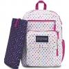 JanSport กระเป๋าเป้ รุ่น Digital Student - Spot-O-Rama White
