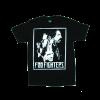 เสื้อยืด วง Foo Fighters แขนสั้น งาน Vintage ลายไม่ชัด ทุกขนาด S-XXL [Easyriders]