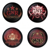 Guns N Roses button badge 1.75 inch custom backside 4 type Pinback, Magnet, Mirror or Keychain. Get 4 in package [8]