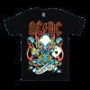 เสื้อยืด วง AC/DC แขนสั้น แขนยาว S M L XL XXL [3]