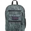 JanSport รุ่น BIG STUDENT - Aqua Dash Scribbled Ink