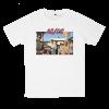 เสื้อยืด วง AC/DC สีขาว แขนสั้น S M L XL XXL [7]