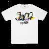 เสื้อยืด วง Arctic Monkeys สีขาว แขนสั้น S M L XL XXL [2]