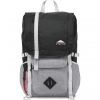 JanSport รุ่น HATCHET LD - Black Poly Ripstop/Grey Marl