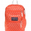 JanSport รุ่น BIG STUDENT - TAHITIAN OR/WT DOTS