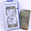 ฟิล์มกระจก(ฟิล์มกันรอย) 3 มิติ Iphone 5/5S/5SE สีเงิน 2in1 (หน้า-หลัง)