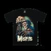 เสื้อยืด วง Misfits แขนสั้น สกรีนเฉพาะด้านหน้า สั่งได้ทุกขนาด S-XXL [NTS]